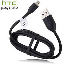 New Original OEM Micro USB 2.0 Data Sync Charger Cable for HTC One X XL M7 M8 M9
