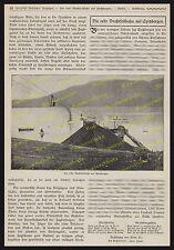 Fotobericht Adolf Bleichert Drahtseilbahn Spitzbergen Adventbai Dampfschiff 1913