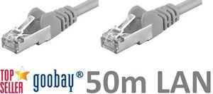 50m Network Cable DSL Lan Patch Cable Cat5e Nip