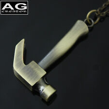 """Mini hammer pendant with 31"""" chain necklace US SELLER"""