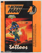 Diamond tattoos sticker ACTION MAN 1997 - bustina sigillata - Bu86