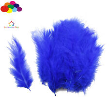 100Pcs sapphire Macarons Colors Turkey Feathers Diy Fluff Dream Catcher Material