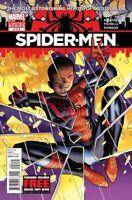 Spider-Men #2 FIRST MEETING Miles Morales Vs. Peter NM Gemini Shipping