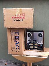 TEAC 3340S TAPE RECORDER REEL TO REEL