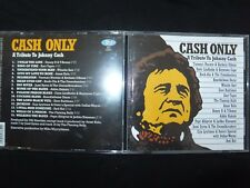 CD A TRIBUTE TO JOHNNY CASH / CASH ONLY / RARE /