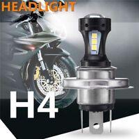 H4 12V 18W Motorcycle 3030 LED Hi-Lo Beam  Head Light Lamp Bulb 6500K