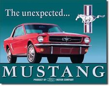 FORD MUSTANG THE UNEXPECTED METAL TIN SIGN VINTAGE RETRO F.U.M. TOOLS FUM