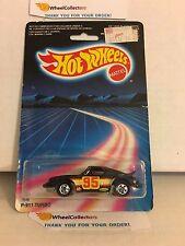 #10 P-911 Turbo Porsche 7648 * BLACK * 1986 Malaysia * Vintage Hot Wheels * E31