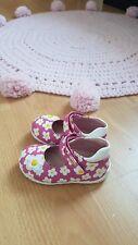 chaussures fille a scratch agatha ruiz de la prada rose a fleurs 23 en cuir