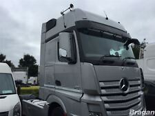 to Fit MERCEDES ACTROS Mp4 ABS Polished Chrome Side Mirror Covers - Bottom