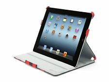 CABANA RED & BLACK JOURNAL COVER Case for IPAD 3 & 4 Gen  W/ STAND by Griffin