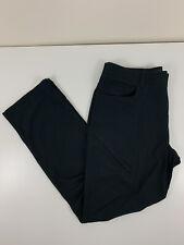 Under Armour Black Pants Mens Size 34x30 Polyester Loose Golf Slacks EUC