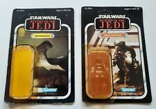 Star Wars Vintage ROTJ Hammerhead & Reb Comm Original Cardback and bubbles lot
