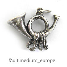 Charm s Argent Pendentif Post Horn Silver HOMOLOGUE