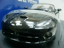 WOW EXTREMELY RARE Dodge Viper SRT/10 2003 Roadster Black 1:18 AutoArt/Mach1/RT