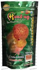 OKIKO HEAD UP Flowerhorn Food - Small S 2mm - 100g 3.5oz - SHIPS FROM USA
