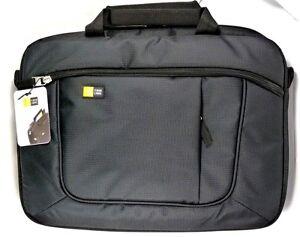 """AUA-314B CASE_LOGIC 14.1"""" Notebook/Macbook Air/Pro & iPad Slim Case Bag (Black)"""