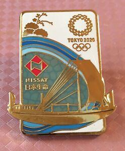 TOKYO 2020 OLYMPIC PINS -  NISSAY SPONSOR PIN .
