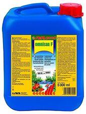 Sera Pond Omnisan F - Arzneimittel für Teichzierfische - 5000 ml