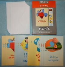 Box of 12 Birthday Cards Featuring the Peanuts {DaySpring 20347} - New