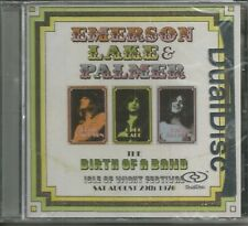 EMERSON LAKE AND PALMER -THE BIRTH OF A BAND ISLE OF WIGHT 1970 - CD - BRAND NEW