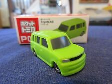 Tomica Taito Prize Half Size P017 Toyota Scion bB xB LIME GREEN HO Scale 1:87