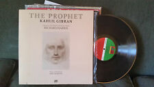 Kahlil Gibran The Prophet by ARIF MARDIN RICHARD HARRIS 1974 LP gatefold vinyl !