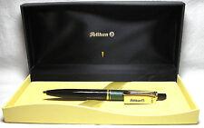Pelikan Souveran K400 Ball Pen Green & Black Gold Trim New in Box Product