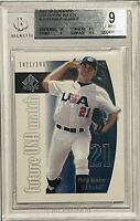 PHILIP HUMBER ROOKIE 2002 SP USA FUTURE WATCH CARD BGS GRADED MINT 9 NY METS RC