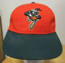 NICE Greensboro Grasshoppers MiLB Miami Marlins Green Orange Adjustable Hat Cap