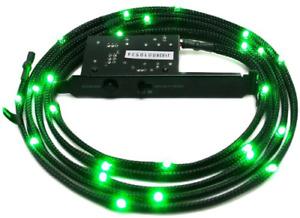 NZXT 1 m Sleeved LED Kit - Green