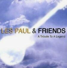 Les Paul & Friends(CD Album)A Tribute To A Legend-EMI-UK-2008-New