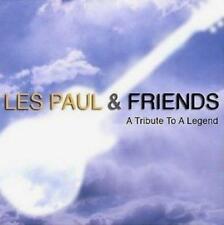Les Paul & Friends(CD Album)A Tribute To A Legend-EMI-UK-2008-New