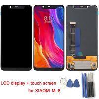 Für XIAOMI Mi8 Mi 8 LCD Display Touchscreen Digitizer Ersatz Bildschirm Schwarz