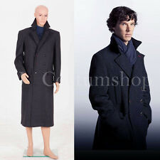 Sherlock Holmes Cape Coat Costume Wool Version  <Custom Made>