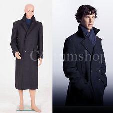 Sherlock Holmes Cape Coat Costume Wool Version  <Custom Made>