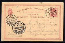 Denmark PSE Card Used  a782