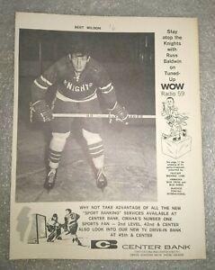 Omaha Knights Bert Wilson WOW Radio Premium Photo Hockey