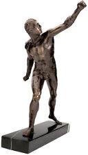 """Roman Gladiator Borghese Sculpture Le Gladiateur Statue Replica Reproduction 16"""""""