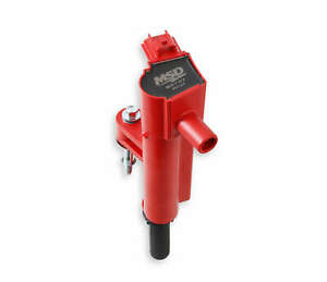 82737 MSD Ignition Coil Blaster Series, 2009-2013 Dodge, Jeep, Ram 3.7L, Red,