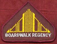 Vintage Boardwalk Regency AC Atlantic City Casino Employee Staff Patch NOS New