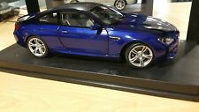 BMW M6 Coupe F13 1:18 scale Model Miniature Car san Marina Blue 80432218737  OEM