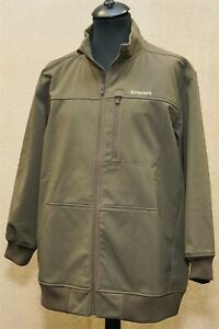Simms Guide Series ladies softshell fishing jacket in green - Size XL