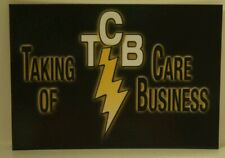 Elvis Presley TCB Taking care Of business Postcard