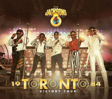 THE JACKSONS - VICTORY TOUR TORONTO '84 (2CD+1DVD Gold) - Glove Records