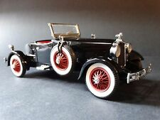 Danbury Mint 1927 Stutz Black Hawk Roadster 1:24 Scale Diecast Metal Model Car