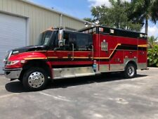 2009 International Wheeled Coach 4400 Crew Cab 4 door Ambulance 6 Sp 2 overdrive