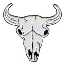 Cattle Cow Bull Skull Metal Enamel Lapel Pin Badge /Tie Pin  XJKB13-69