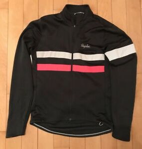 RAPHA Men's Wool Blend Long Sleeve Brevet Cycling Jersey