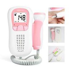 Detector de latido del corazón bebe Doppler Embarazadas Ultrasonido Portátil